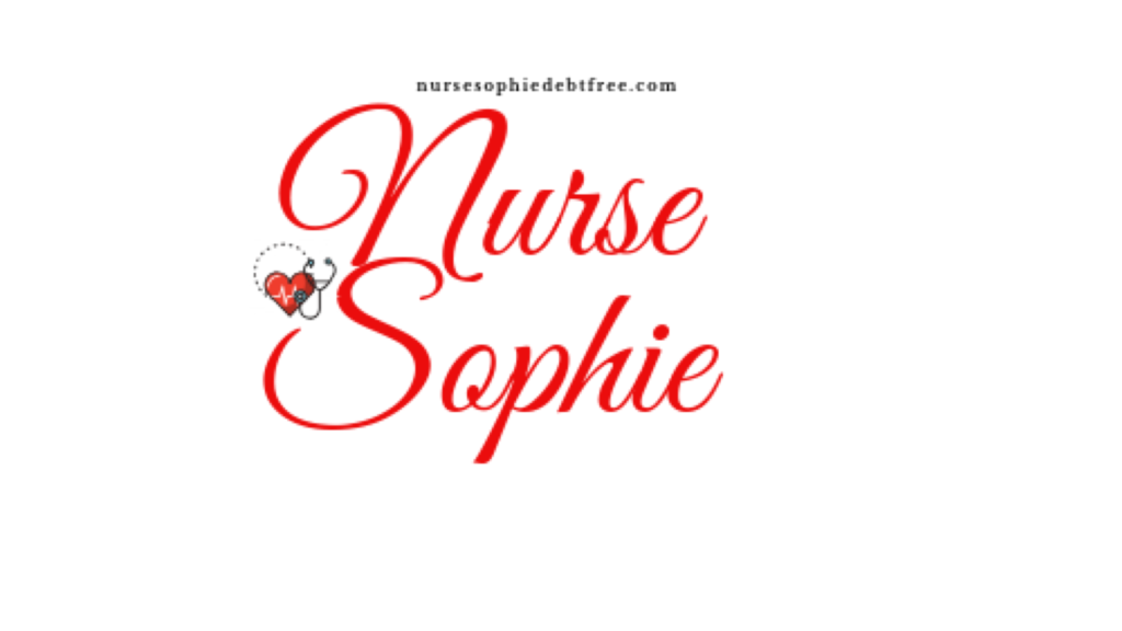 nursesophiedebtfree